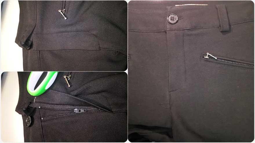Как перешить молнию в брюках